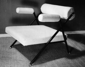 Rollenstoeltje 1954 buisframe, kleine oplage