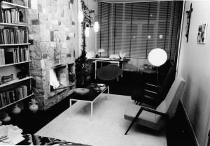 Interieur woonhuis, 1955